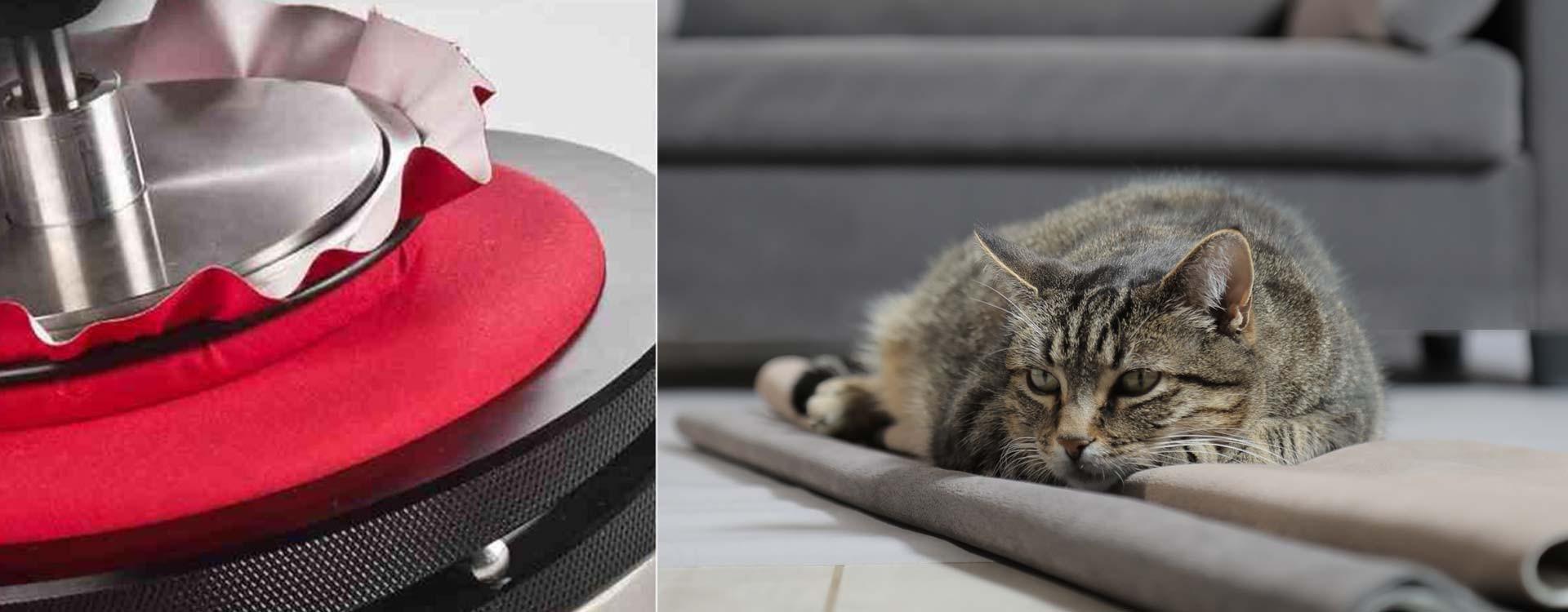 a quoi sert le test martindale garantir la r sistance du tissu du couchage de votre chien ou chat. Black Bedroom Furniture Sets. Home Design Ideas