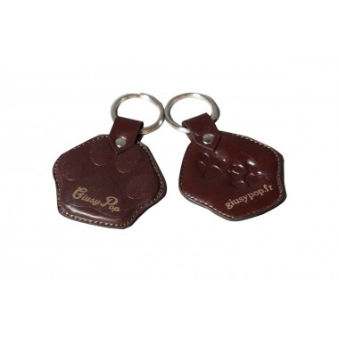 Giusypop leather holder - Handmade