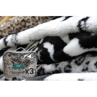 Накидка на лежак для собак из иск.меха