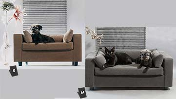 Sizes armchair for dog and cat