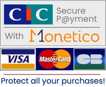 secure payment CIC MONETICO
