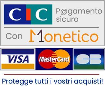 pagamento sicurizzato CIC MONETICO