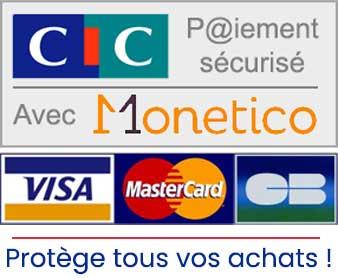 Paiement sécurisé CIC Monetico