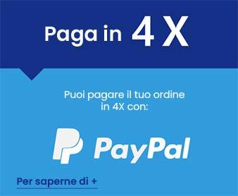 Pagamento con Paypal i 4 tranches