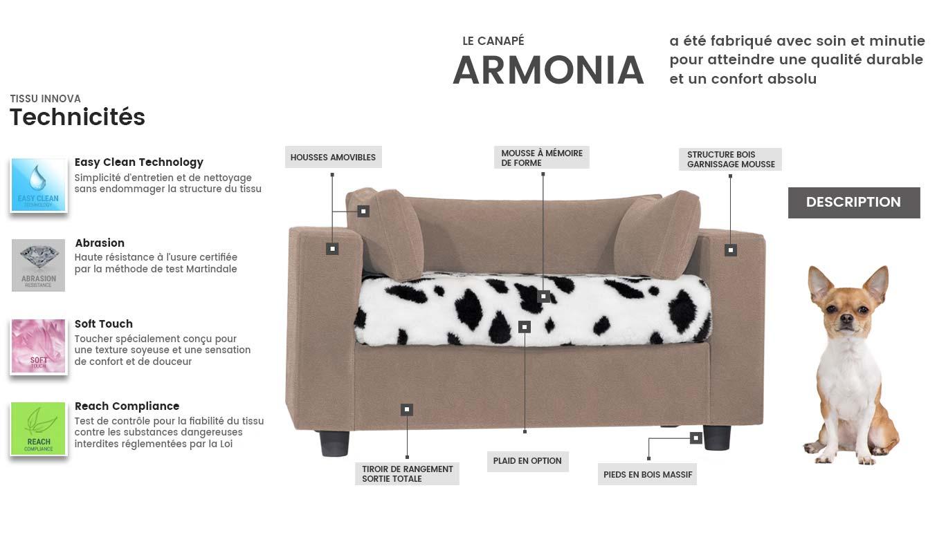 Lit confortable pour chien luxe et élégance