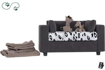 oltrona per cani e gatti elegante e confortevole