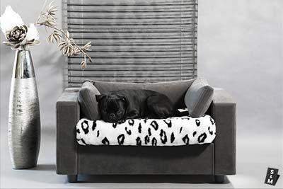 Canapé chiens et chats déhoussable avec protège coussin