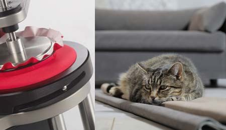 What is the Martindale test? It is a European way to measure the wear durability and resistance of your pet's bed use.