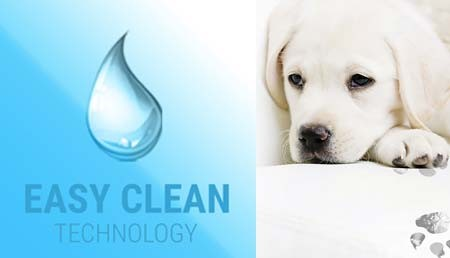 What is Easyclean technology?